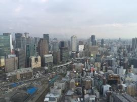 Osaka, skyline